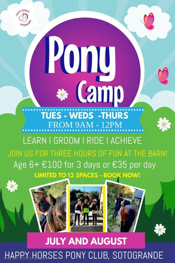 Summer Pony Camp